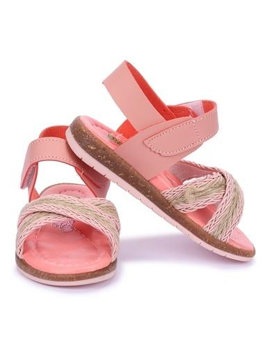 Kiko Kids Spor Sandalet Pudra